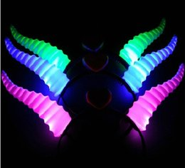 cornu gorais LED head band decoration christmas carnival festival holiday supplies party