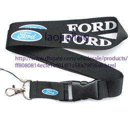 Free shipping FORD car logo Lanyard Neck Cell Phone Key Chain Strap and phone lanyard Quick Release 120 pcs a lot