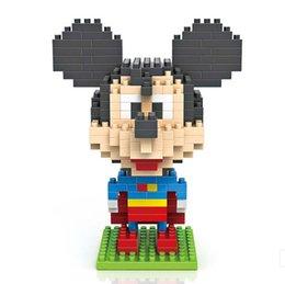 Wholesale 2015 new chidren Small particles Assembly blocks Big head superman