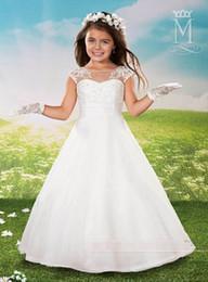high grade flower girl dress bead ing princess white formal dress communion dress girls dress flower girl dress