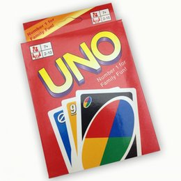 270g New UNO Card Game Playing Card Family Fun Updated Version