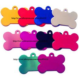 Wholesale-Personalized 50*34mm Big Dog Bone Dog Tags,Custom Pet Tags Id Name Tag,1000pcs lot Wholesale,DHL FedEx Free Shipping
