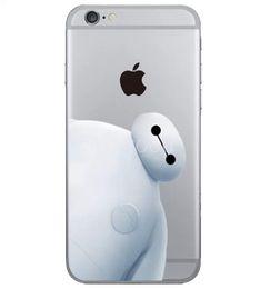 2017 cas transparents pour iphone 4s baymax Big Hero 6 souple clair cas de TPU Hiro hony chaux Couverture arrière pour iPhone 4 4s 5s 5 5c 6/6, plus 6+ abordable cas transparents pour iphone 4s