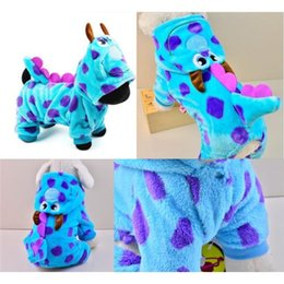Wholesale Cartoon Bobble Styling Dog Clothes Pet Jacket Coat Puppy Cat Costumes Apparel Winter