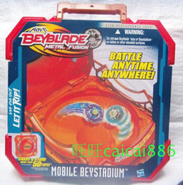 Wholesale 2015 NEW BEYBLADE METAL FUSION MOBILE BEYSTADIUM STADIUM ARENA BATTLE ANYWHERE