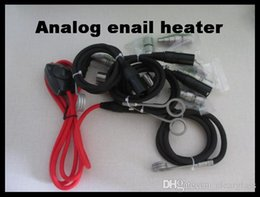 Wholesale Analog Enail Controller E nail Heater Controler with coil size mm or mm black Kelvar cord XLR Coil Compatible