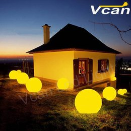 4PCS FAST Free Shipping rgb 20cm Outdoor Garden Led Glow Ball Swimming Pool Led Floating Ball