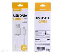 Remax Fast speed Charging data type-c Micro USB Cable for Samsung Huawei smartphone USB Cable with retail box