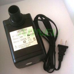 Wholesale 10 New US plug LPH M V Hz AC Mini Submersible Aquarium Fish Tank Air Water Pump Fountain Pump With Flow Controller