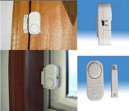 Acheter en ligne Entrée de la porte de sécurité-Alarme sans fil capteur de porte fenêtre entrée Accueil sécurité antivol alarme de Bell