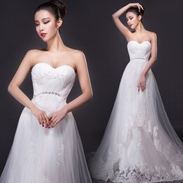 Wholesale The new Europe and the United States fishtail gown wedding dress strapless restoring ancient ways with the tail Wedding dress brand p