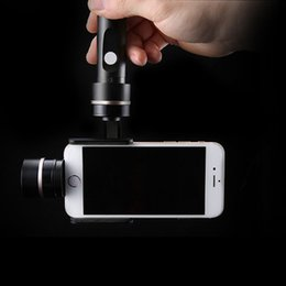 Wholesale Free DHL Feiyu Tech FY G4 Axis Handheld smartphone Gimbal For iPhone C or related Size Cellphone
