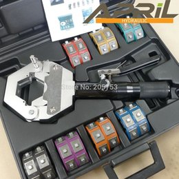 Wholesale LOW SHOPPING HOT TOOLS Hose Crimping Tool Hose A C crimping kit Hydra crimp for Barbed and Beaded Hose Fittings