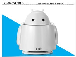 Free shipping new arrival Hifi mini speaker hsd8008b small speaker UFO robot audio hi cartoon speakers for wholesales or retailor