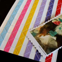 Wholesale Stickers Fashion Korean Decorative Photo Corner Stickers Creative DIY Album buy more for fast way