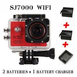 Wholesale 2015 New model Action Camera SJ7000 Wifi LTPS LED Sports extreme mini cam recorder marine diving P HD DV
