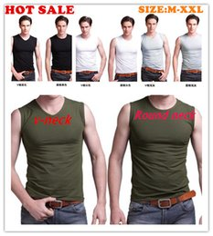 Wholesale-2015 mens bodybuilding clothing brand New vest sleeveless shirt male tanks tops cotton t shirt men gym undershirt free shipping