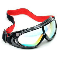 Wholesale-2015 Brand Frame multi-colored Lens Eye Protective Goggles New Fashion Snowboard Snowmobile Motorcycle Ski Goggles Eyewear