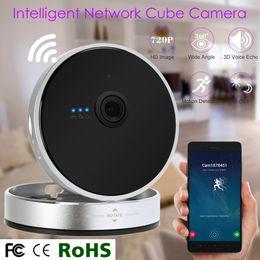 Wholesale Smart Home P Wireless IP Cube Camera Wifi P2P Night Vision IR Cut Motion Detect Home Surveillance CCTV Security S709