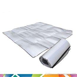 Wholesale Factory direct tents moisture proof pad three to four aluminum foil moistureproof mat recreational camping waterproof pad picnic mat