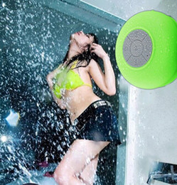 Wholesale New Mini Ultra Portable Waterproof Stereo Wireless Bluetooth Speaker Handsfree with Suction Cup IPX4 speaker for