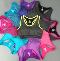 SPORT Bra high-strength double-reverse color Heather Grey line sports bra yoga vest