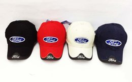 Wholesale baseball hat with inwrought Ford picture sunbonnet for men and women peaked cap Ball Caps