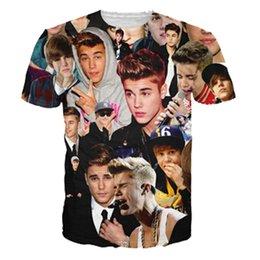 Wholesale 21 style men women harajuku t shirt Justin bieber Miley cyrus Lana del rey resident evil zombie D print T shirt tshirt clothes