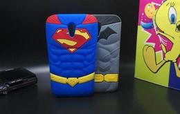 Wholesale 3D Muscle Superman Batman Soft Rubber Silicone Case For iPhone S Plus Samsung Galaxy Grand Prime G530 LG G3 Pro Lite D680 MOTO G2 G3