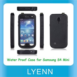 Wholesale Redpepper Waterproof Cell Phone Case for Samsung Galaxy S4 Mini Water Proof Snow Dirt Shock Proof