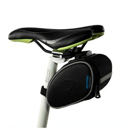 Wholesale 2016 New UPdated Roswheel Bike bicycle mountain Bag Cycling Basket Saddle Outdoor Pouch Rear Seat post Bag