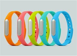 Mi bracelet de bande en Ligne-Véritable bande Xiaomi Mi poignet intelligent Band MI4 M3 MIUI intelligente de remise en forme à la mode bracelet étanche Wearable