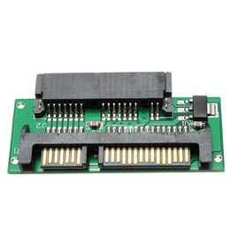 Wholesale 1pcs Electronic Mini Micro TO inch SATA MSATA Adapter Converter Card Connectors Plate Board Assembly Parts