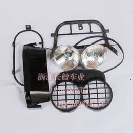 Wholesale Zoomer electric fuel pedal refires motorcycle headlight kit mount headlight assembly
