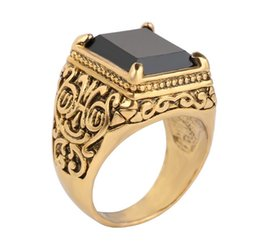 Wholesale Silver Plated Characteristic Retro Style Carving Pattern Rings For Men Women Cluster Rings Jewelry China