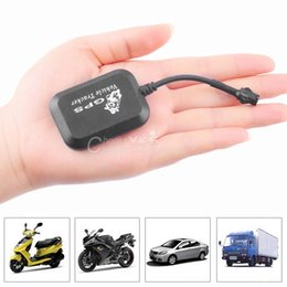 Wholesale Mini GPS GPRS GSM Tracker SMS Network Bike Car Motorcycle Monitor GPS Locator low price