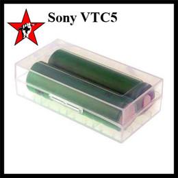 Wholesale Original Sony VTC4 mAh VTC5 mAh A High Drain Battery Lithium Batteries V Fitting Koopor Plus Realeaux DNA W Box Mods