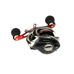 Wholesale 12BB Fishing Baitcasting Reels Rods Ball Bearings One way Clutch High Speed Red For Outdoor Fish Sports H9701 R