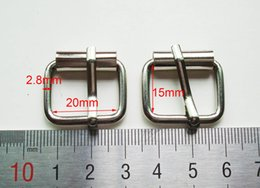 Wholesale mm Wide silver antique rust plating ferrous belt pin buckle bag buckle accessoires garment accessories bag fasteners
