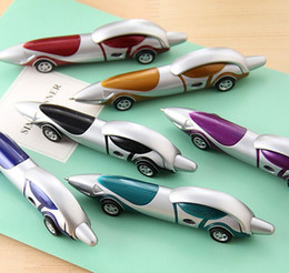 Wholesale 2015 new manufacturer provides straightly Ballpoint Pens bullet shaped pen Creative stationery car pen ball point pen shape