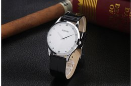 Wholesale Ultra thin watch men belt in north Men s watch table restoring ancient ways is han edition