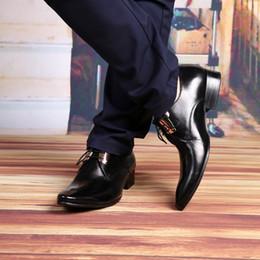 2016 zapatos de vestir de cuero marrón Comercio al por mayor de la moda 2015 Negro