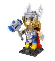 LOZ Diamond Block Super Hero #9448 Building Toy Nanoblock bricks assembly model kits DIY creative gift minifigure 3D puzzle gift