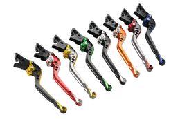 Mixed-color Motorcycle Adjustable Long Brake Clutch Levers For 08-14 Honda CB1000R   04-07 Honda CBR1000RR CBR 1000 RR FIREBLADE