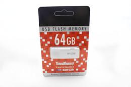 Wholesale DHL Free GB USB Flash Memory mini gift U disk Drive Stick Drives Sticks Pendrives Thumbdrive White Newers