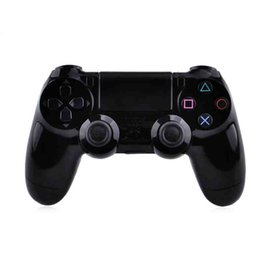 Wholesale PS4 Controllers USB Wired Game Controller Joystick Gaming Controllers with Analog Sticks meters USB Cable for PC Laptop PlayStation