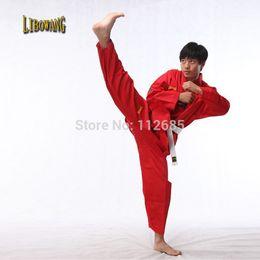 Wholesale Maria s store Colourful unique unisex Poly Cotton coach Taekwondo Dobok tae kwon do karate uniform Adult Kid SIZE cm