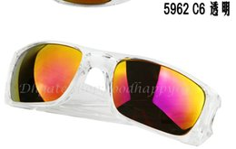 Wholesale Top Quality Men s Women s sunglasses Transparent frame Sport bicycling sunglass Goggle Sunglasses epacket delivery