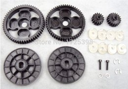 Wholesale 1 rc car racing parts T T amp T T steel spur pinion sets Fits HPI Baja B T SC SS