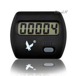 Wholesale Digital Mini Pedometer Walking Counter Waist Hanging Pedometer Step Counter JB001H H60